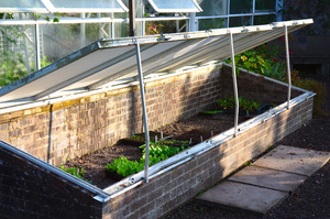 Coldframe: Coldframe, or small greenhouse