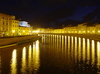 Pisa by night