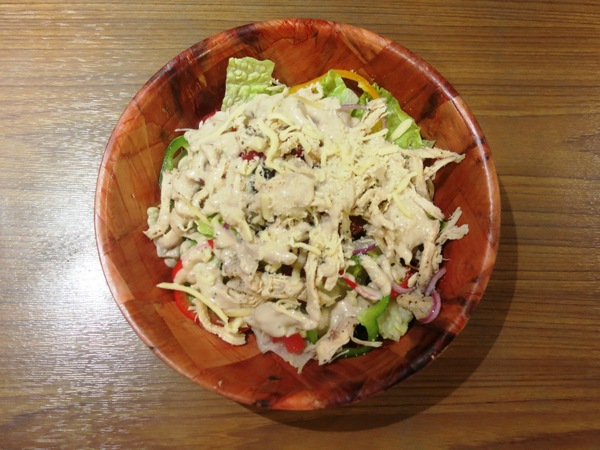 Chicken and cheese salad