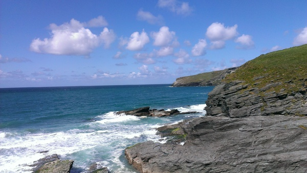 Trebarwith Rocks