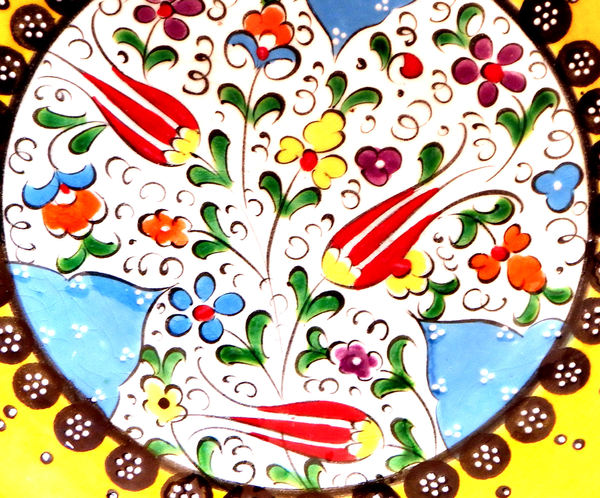 glazed floral turkish tiles2