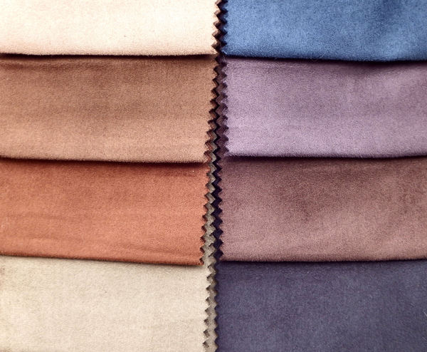 suede swatches6: sueded fabric sample swatches