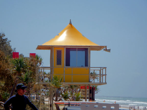 lifeguards lookout: ocean beach lifeguard tower