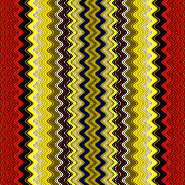 between the red & yellow15: abstract red & yellow plus lined background, texture, patterns and perspectives