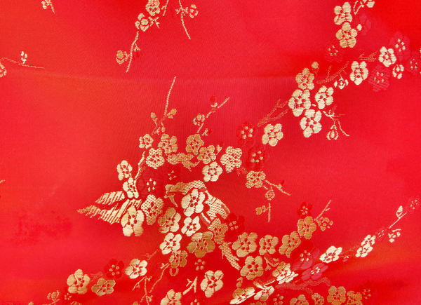 embroidered Chinese silk2