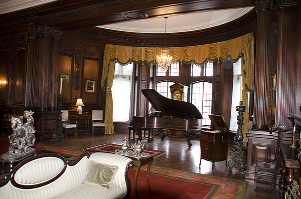 concert room: concert room in an old castle in Toronto