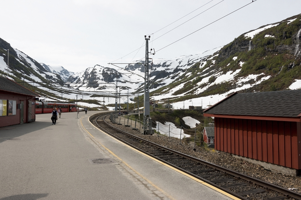 Mountain railway station