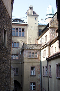part of old castle