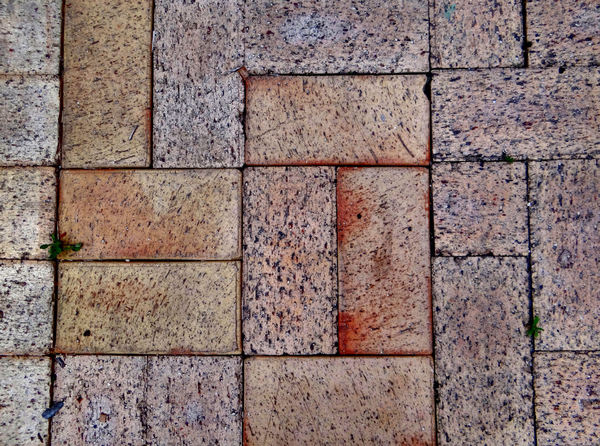 paving patterns3: pavement area with patterned surfaces