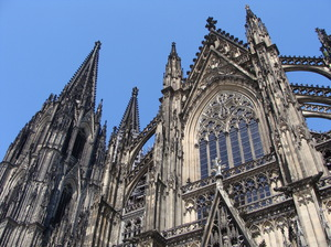 Cologne Cathedral 1: The St. Peter and Maria cathedral in Cologne