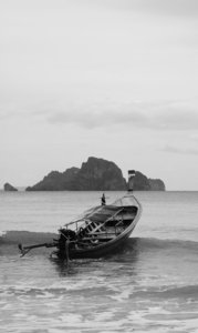 Longtails 2: Various shots of Thai Longtail Boats...NB: Credit to read