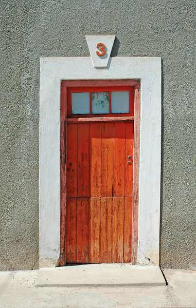 Olde Doors 1: Old style classic doors from the Karoo, South Africa.NB: Credit to read
