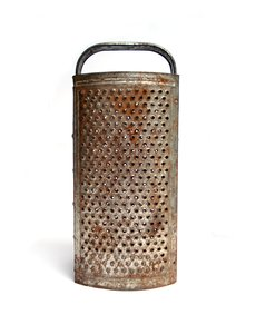 Old Rusty Grater 3: Old rusty grater