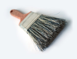 Thick brush 1: Thick painting brush