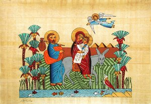 holy family: Holy family in Egypt