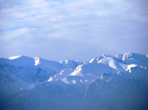 charpatiens 1: Fagaras Mountains view from Codlea
