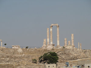 temple of hercules: Amman, Jordan