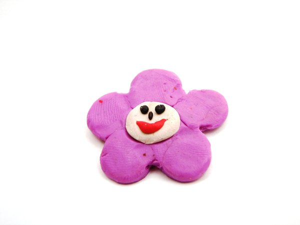 flower smile: just my children being creative with play-dough :-)