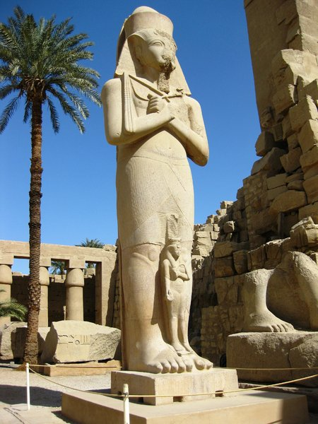 karnak temple 19: The temple complex of Karnak in Thebes (Modern Luxor)