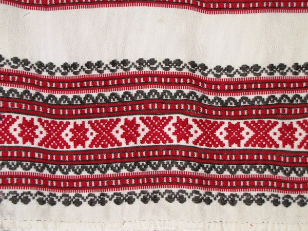 traditional romanian: traditional romanian stitching