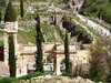 Ephesus 3: Ruins and mosaics in the antique city of Ephesus, Aegean coast of Turkey