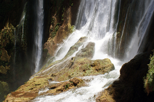 Waterfalls in Morocco: Waterfall in Morocco