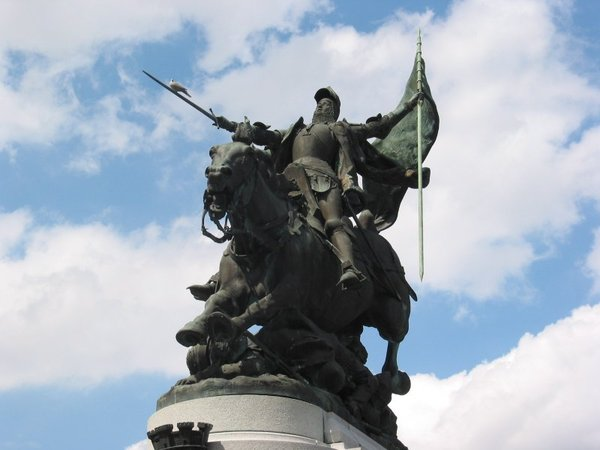 Joan of Arc: Well known and riding high!