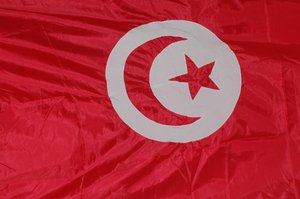 Tunisian flag: Flag of Tunisia