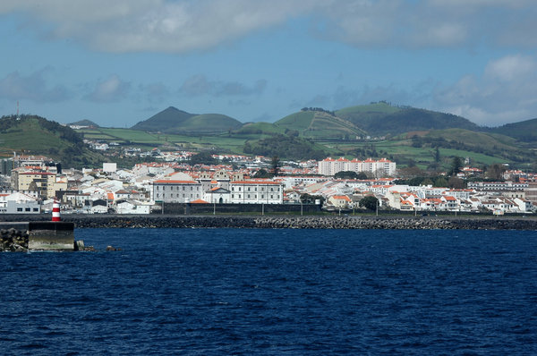 Azores: Photo taken from deck while cruising past the Azores.