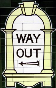 way out: way out