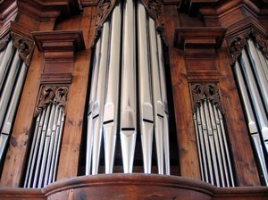 organ pipes: organ pipes
