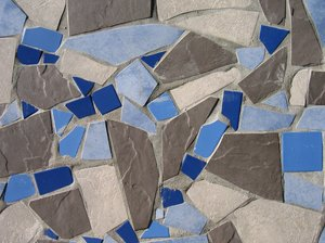 abstract blue tiles texture: abstract blue tiles texture