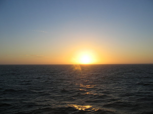 sunrise over the sea: sunrise over the sea
