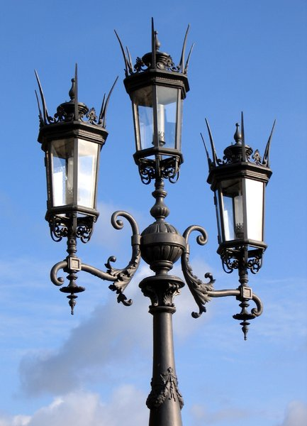 historic street lights: historic street lights