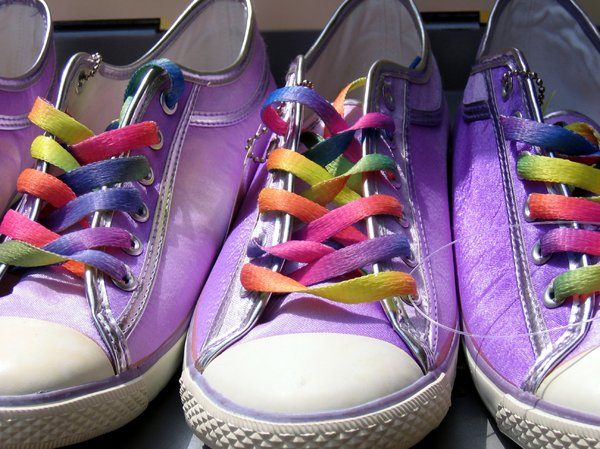 colorful shoes: colorful shoes