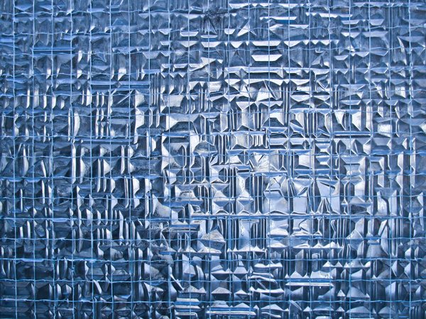 irregular blue glass texture: irregular blue glass texture