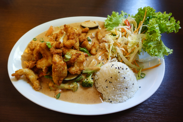 chicken and vegetables sate: chicken and vegetables sate