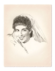 My Bride: This is a pencil sketch I did of my wife shortly after we were married on September, 20 1986.We are still married.Please visit my stockxpert gallery:http://www.stockxpert.com ..I Love My Wife!Please visit my gallery at:http://www.stockxpert.com ..