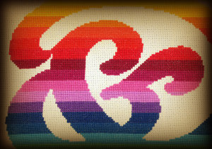 Ampersand Stitched: Hand Stitched Graphic with dark feathered edge.Please visit my gallery at:http://www.stockxpert.com ..