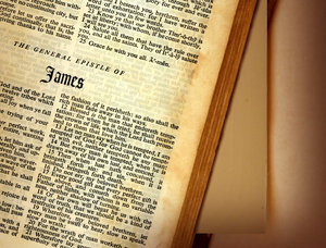 James: The book of Jamesfrom the Holy Bible.Please support my workby visiting the sites wheremy images can be purchased.Please search for 'Billy Alexander'in single quotes atwww.thinkstockphotos.comI also have some stuff atwww.dreamstime.com/Billyruth03_portfoli