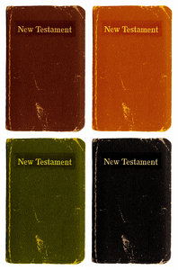 Little Bible: A Little Bible in various colours.