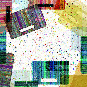 Spatter Collage 1: A collage with spatters of colour.Please visit my stockxpert gallery:http://www.stockxpert.com ..