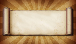 Scroll Burst: Vintage scroll on burst background.This is The Lo Res Version.For The Hi Res Version, Please visit my gallery at:http://www.stockxpert.com ..