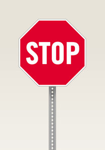 Stop Sign: A stop sign illustration.Stop by Stockxpert for a much larger image:http://www.stockxpert.com ..