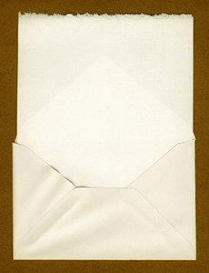 Letter: A vintage envelope and letter.This is the Lo Res version.For the Hi Res version visit:http://www.stockxpert.com ..