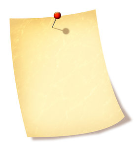 Note: A computer generated note illustration.
