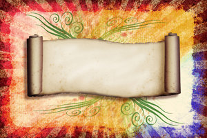 Grunge Collage: A vintage collage with a curved scroll.Please visit my gallery at:http://www.thinkstockphot ..and:http://www.dreamstime.com ..
