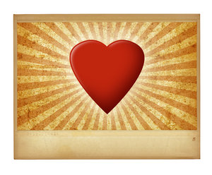Heart Pic: A vintage valentine.Please visit my gallery at:http://www.thinkstockphot ..and:http://www.dreamstime.com ..