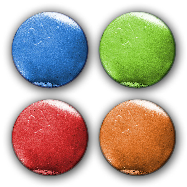 Four Butttons 1: Variations on four buttons. 