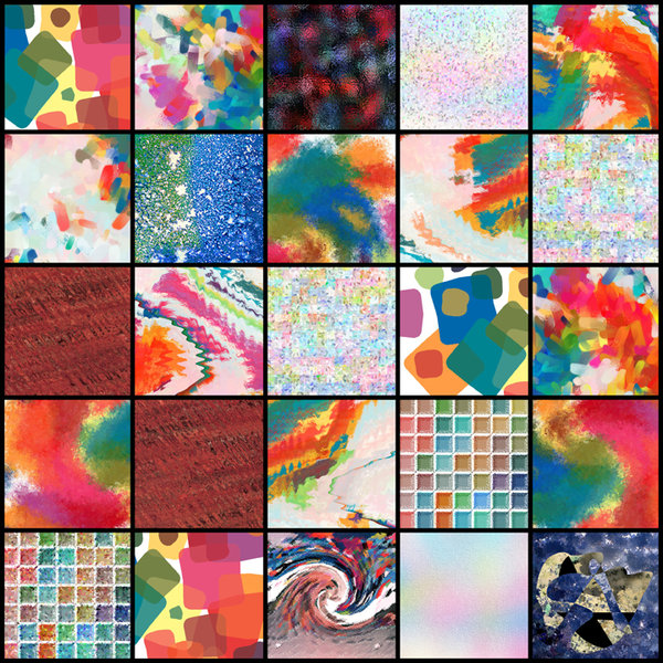 Abstract Colours 4: Variations on abstract colours. Visit me at Dreamstime: 